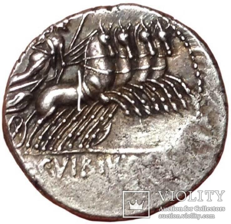 С. Вибий Cf Панса - AR Denarius, 90 г. до н.э