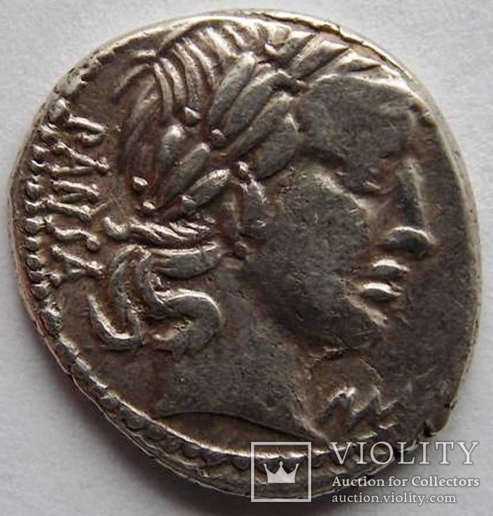 Римская республика - С. Вибий Cf Pansa Рим 90 до н.э