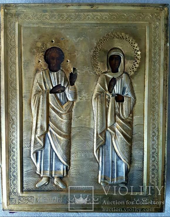 Икона Св. Анна и Св. Аким