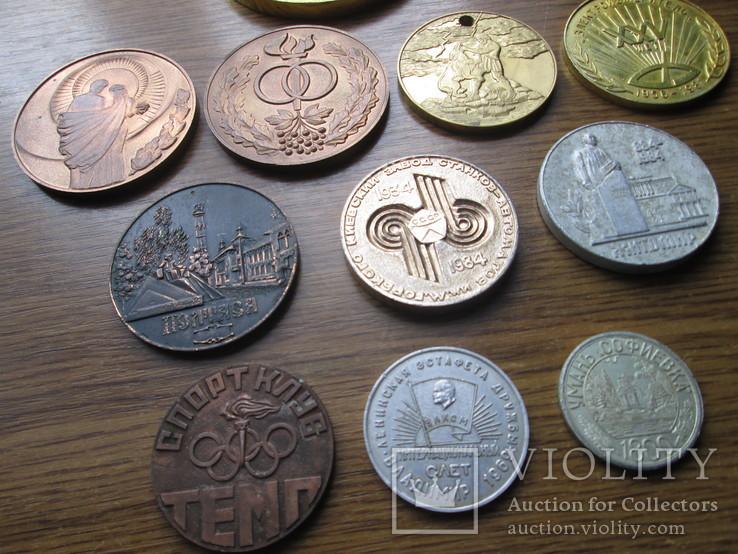 Настольные медали 11 шт, фото №3