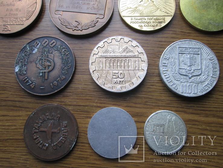 Настольные медали 11 шт, фото №8