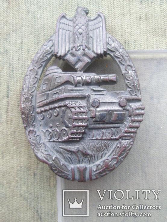 Знак за танковую атаку  фирмы Вюрстера.