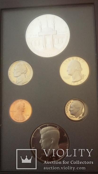 Набор монет США 1984 года, фото №6
