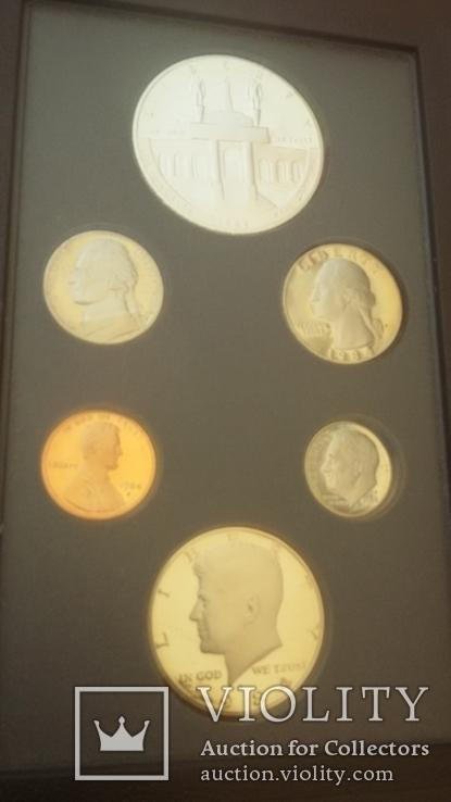 Набор монет США 1984 года, фото №8