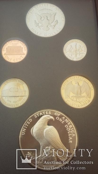 Набор монет США 1984 года, фото №9