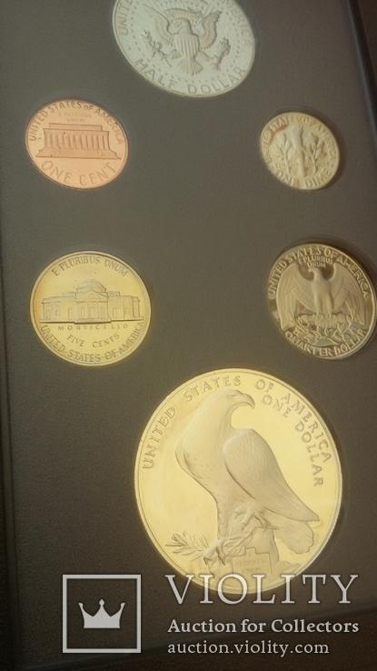 Набор монет США 1984 года, фото №13