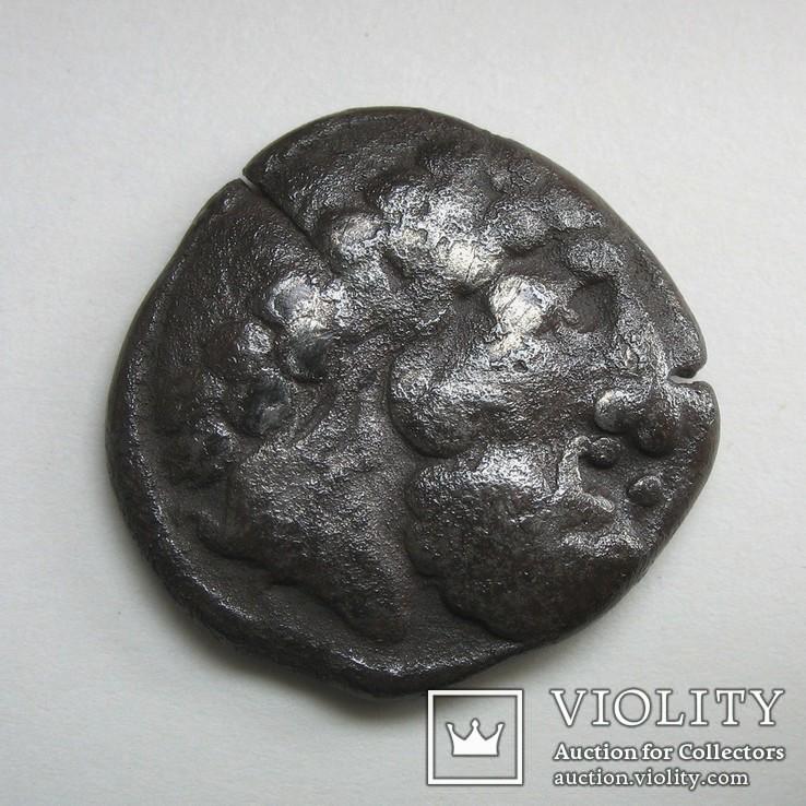 Гето-даки, подражание тетрадрахме Филиппа ІІ (1)