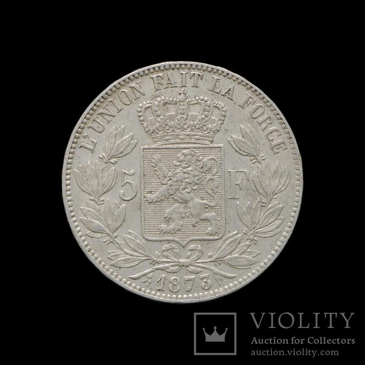 5 Франков 1873, Бельгия