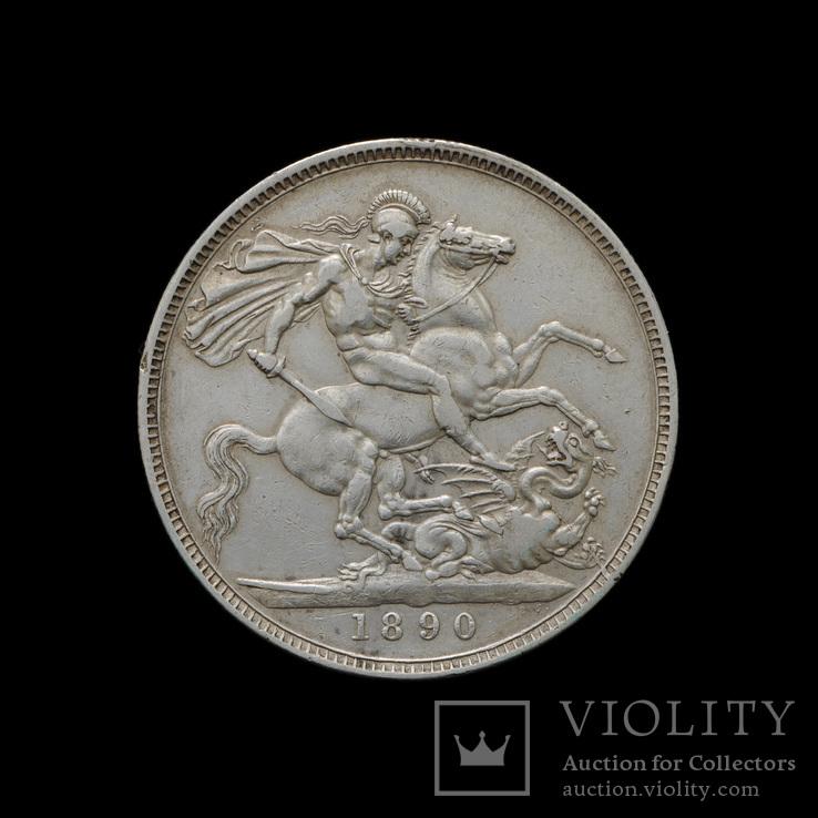 1 Крона 1890 Виктория, Великобритания