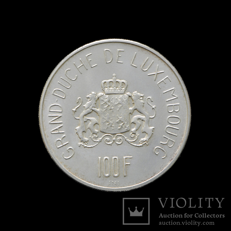100 Франков 1963, Люксемубрг