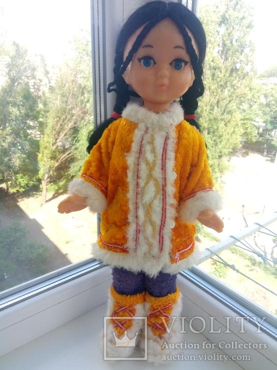 Кукла паричковая, 44 см. на резинках