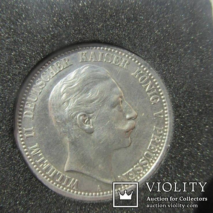 Германия, Пруссия. 2 марки 1908 г. (Unc)