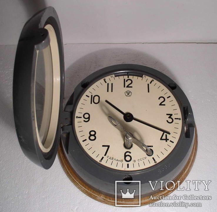 Часы корабельные 4 - 1974 №8583 СССР на ходу