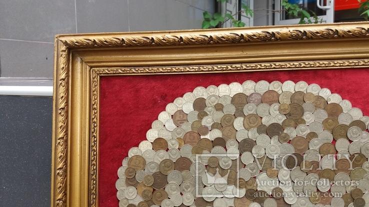 Денежное дерево из монет СССР 68-52 см, фото №4