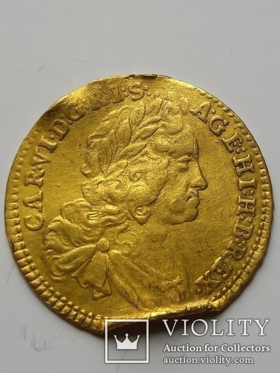 Золотой Дукат 1739 года