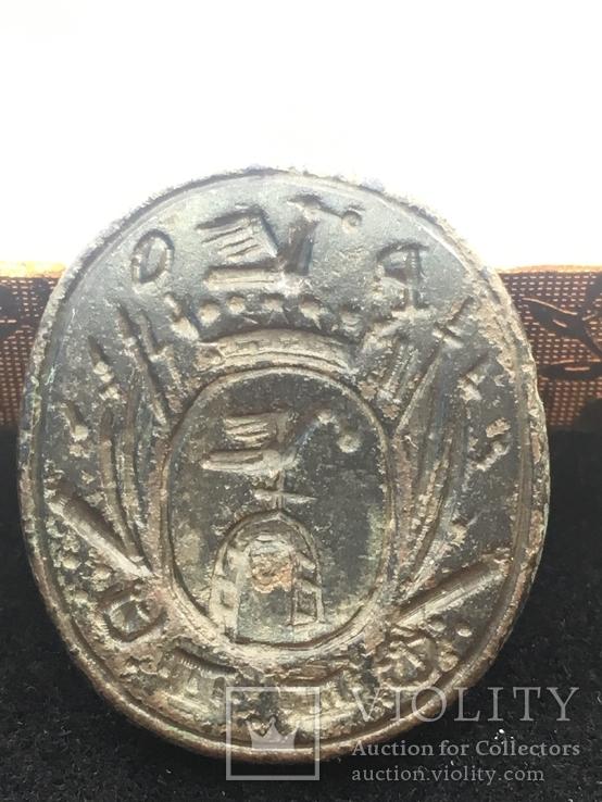 Печать герб побуг Конецпольские