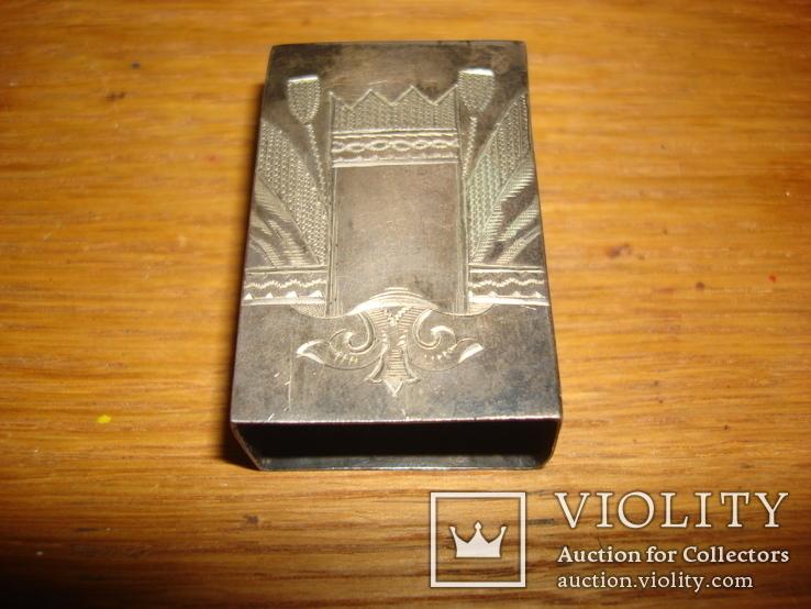 Спичечница Серебро 84 пр. Вес 15,61 гр.