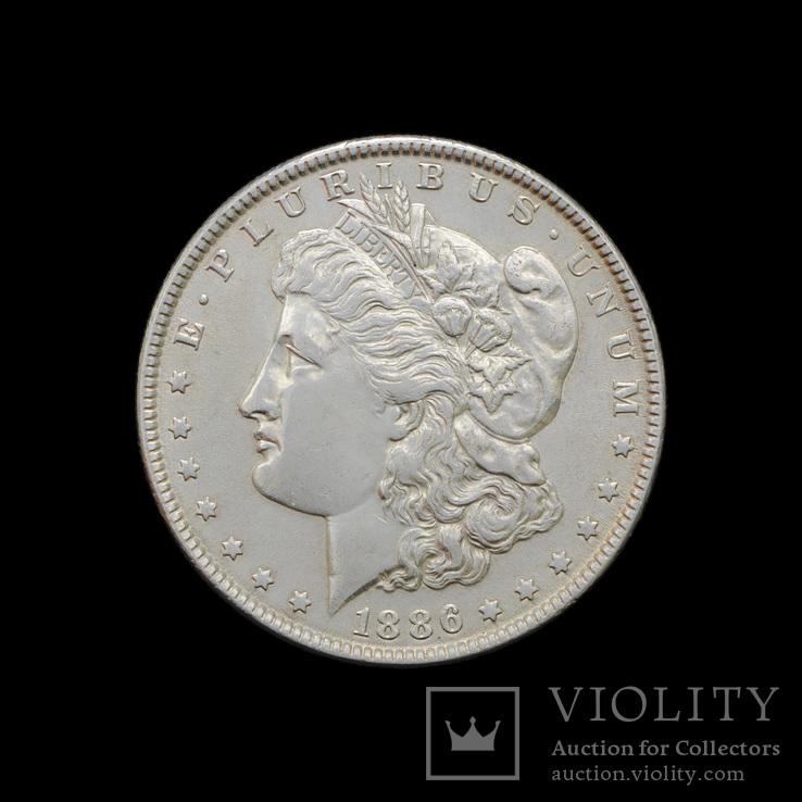 1 Доллар 1886 Могран, США