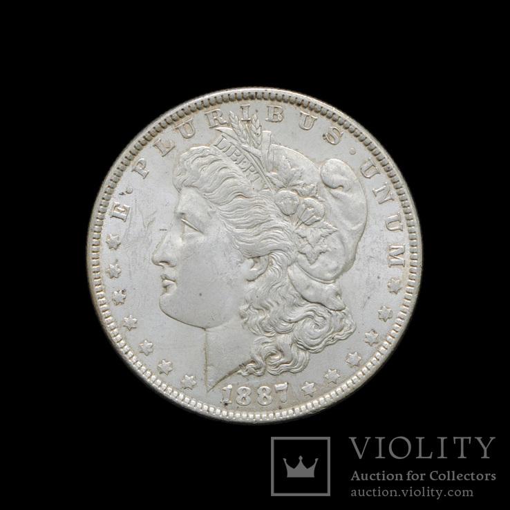 1 Доллар 1887 Могран, США