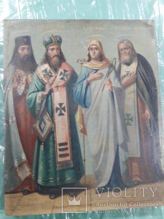 Икона четыре святых
