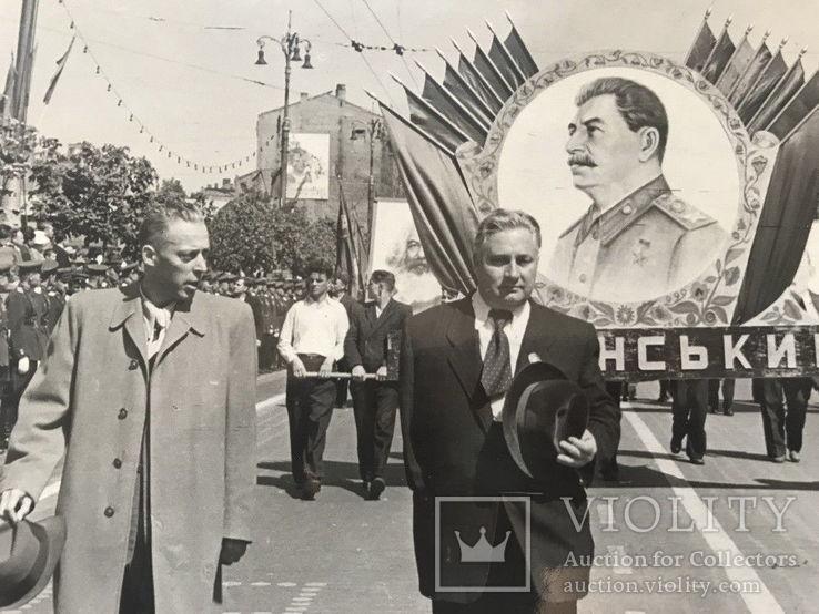 1949 Набор документов и фото первого секретаря райкома Сталинского района Киева, фото №9