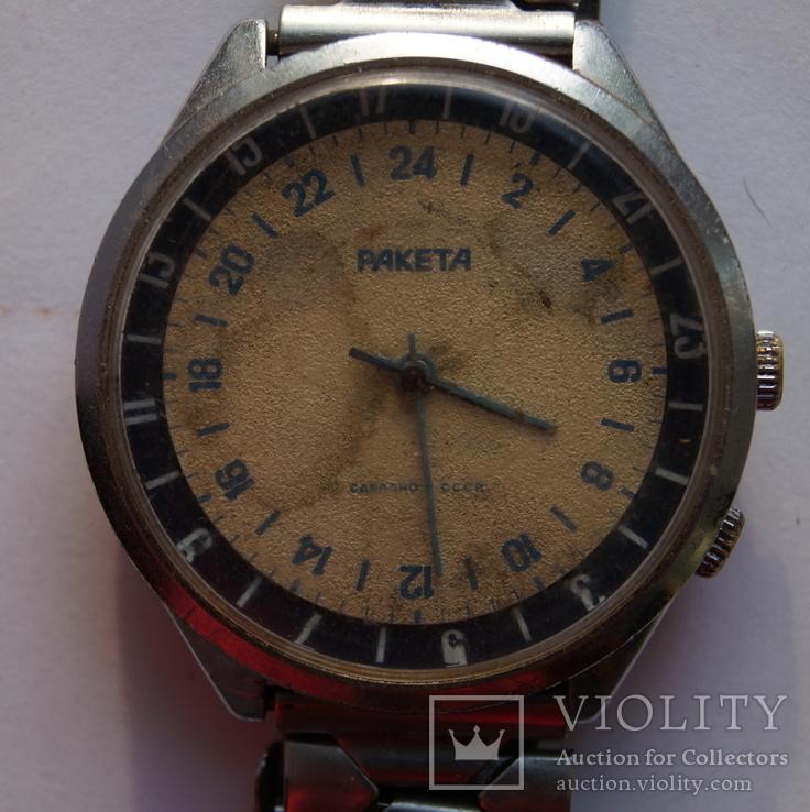 Часы наручные мужские механические ракета 24 часа su н  цена на часы ракета в нашем интернет-магазине вполне приемлемая.