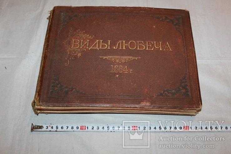 Виды Любеча 1884 год 33 фотографии Черниговская обл Альбом 23*30см