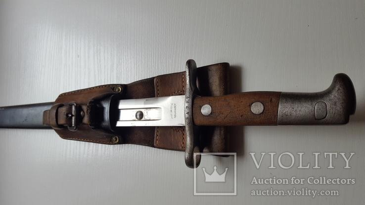 Штик ніж карабіна Шмідта-Рубіна.різновид 1889