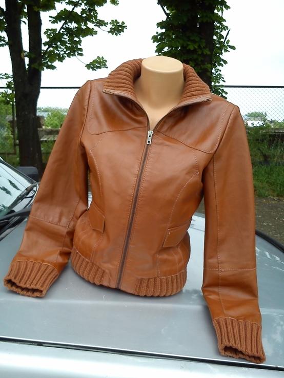 Куртка Vila из Натуральной Кожи
