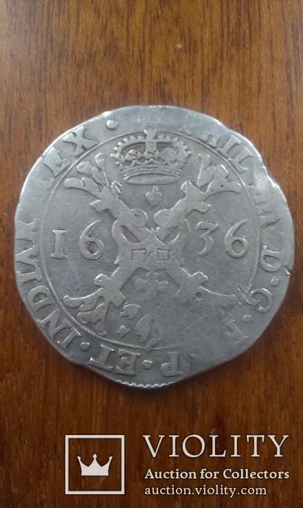 Талер патагон 1636