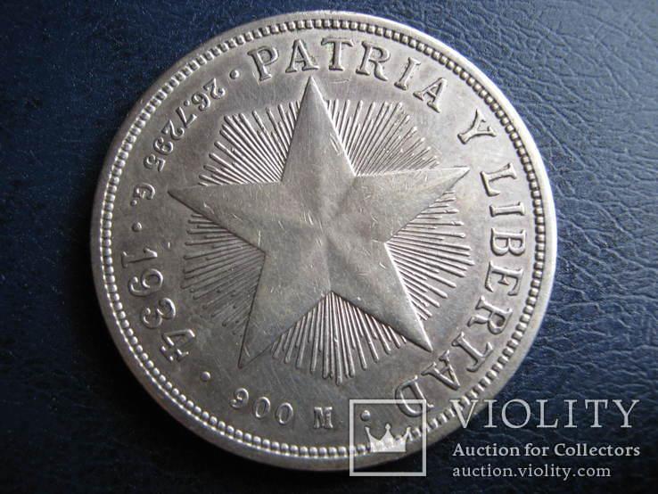 1 Песо Куба 1934