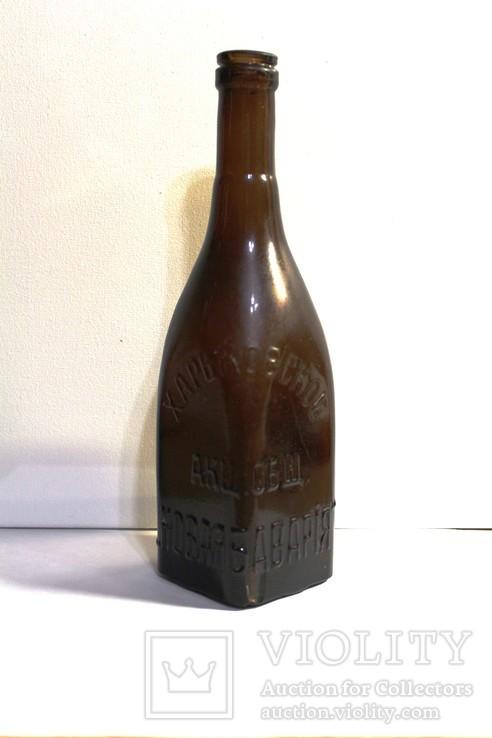 Бутылка квадратная