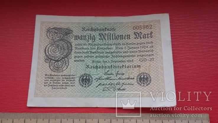 Рейхсбанкнота, фото №3