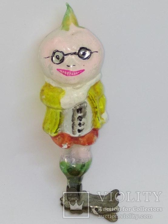 Ёлочная игрушка Сеньор помидор, СССР 50-е