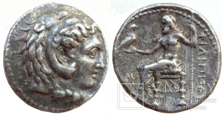 Тетрадрахма Македония Филипп III Вавилон 323-317 гг до н.э. (24_33)