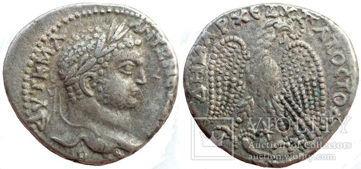 Тетрадрахма Каракалла Антиохия 215-217 гг н.э. (24_34)