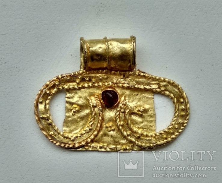 Золотая лунница AU