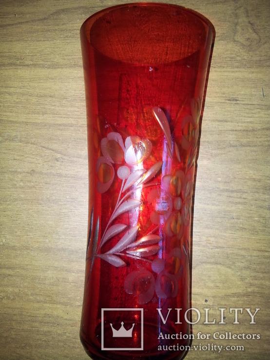 Красная ваза, фото №3