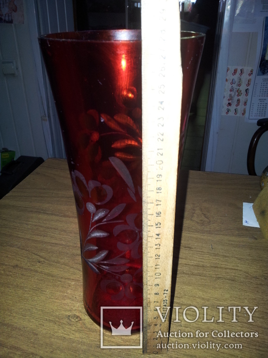 Красная ваза, фото №5