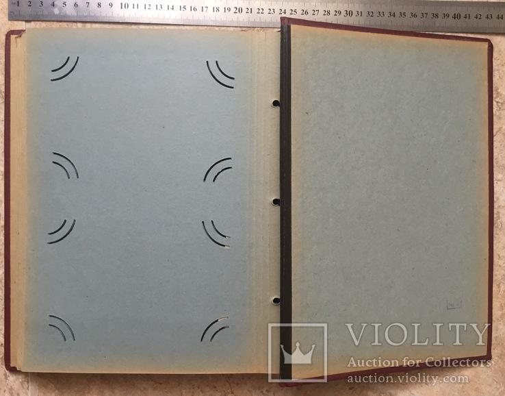 Альбом для открыток 1950 годов 36 листов, фото №6