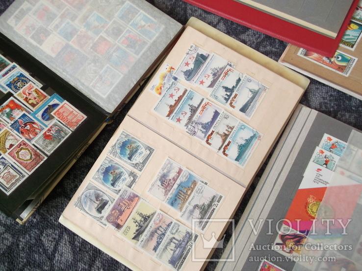 Марки почтовые в альбомах больше 2000 штук, фото №5