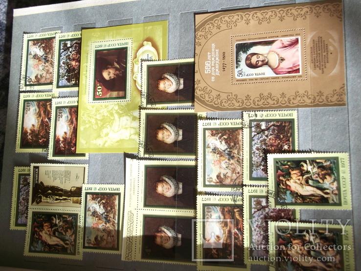 Марки почтовые в альбомах больше 2000 штук, фото №9