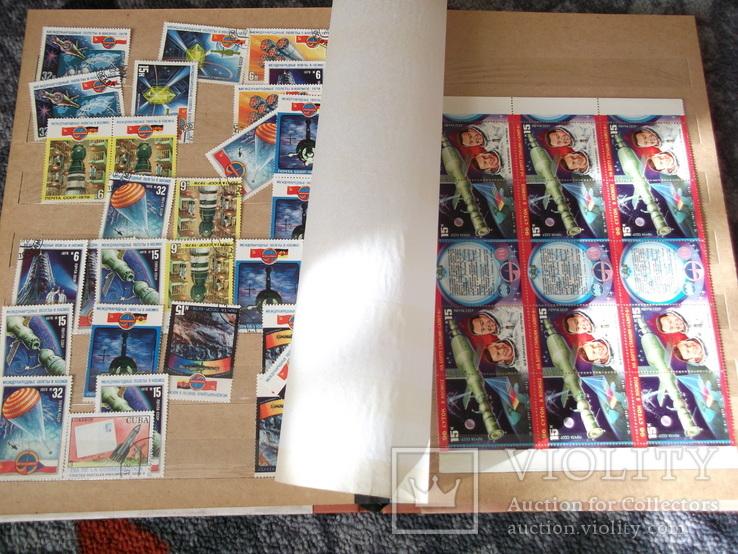 Марки почтовые в альбомах больше 2000 штук, фото №2