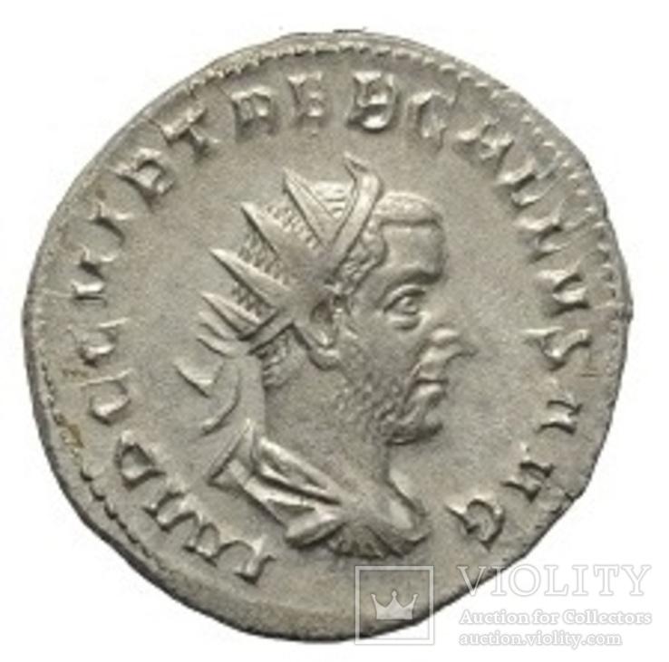 Требоніан Галл антонініан срібло (251-253 р. н.е)