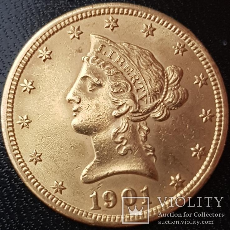 10 долларов 1901 года