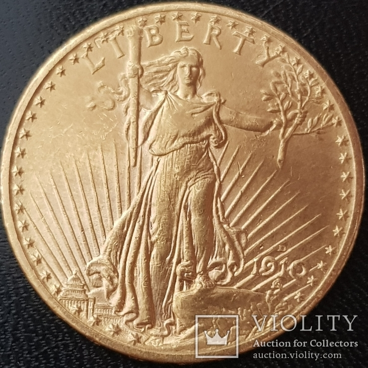 20 долларов 1910 года
