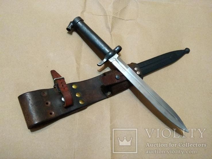 Штык 1896 года к винтовке Маузера, Швеция, Карл Густав