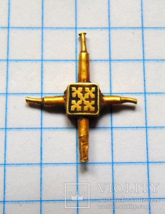 Золотой крестик кр