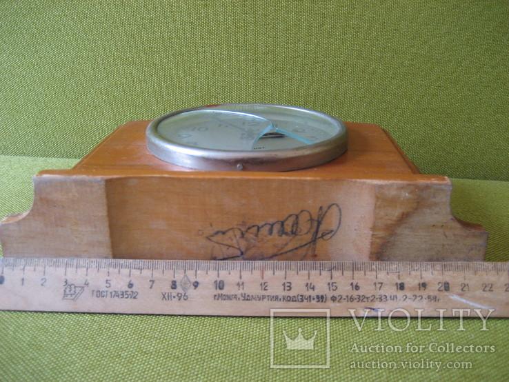 Часы СЧЗ на 4 камня настольные, фото №3