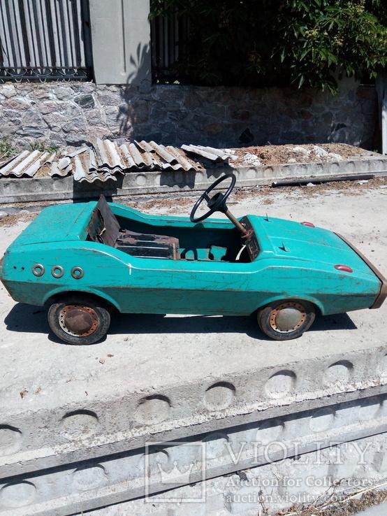 Машинка педальная
